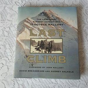 FIRST PRINTING LAST CLIMB GEORGE MALLORY